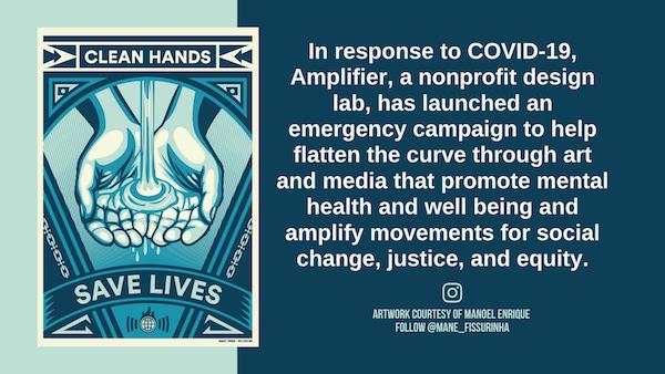 COVID Clean Hands Save Lives Manoel Enrique graphic