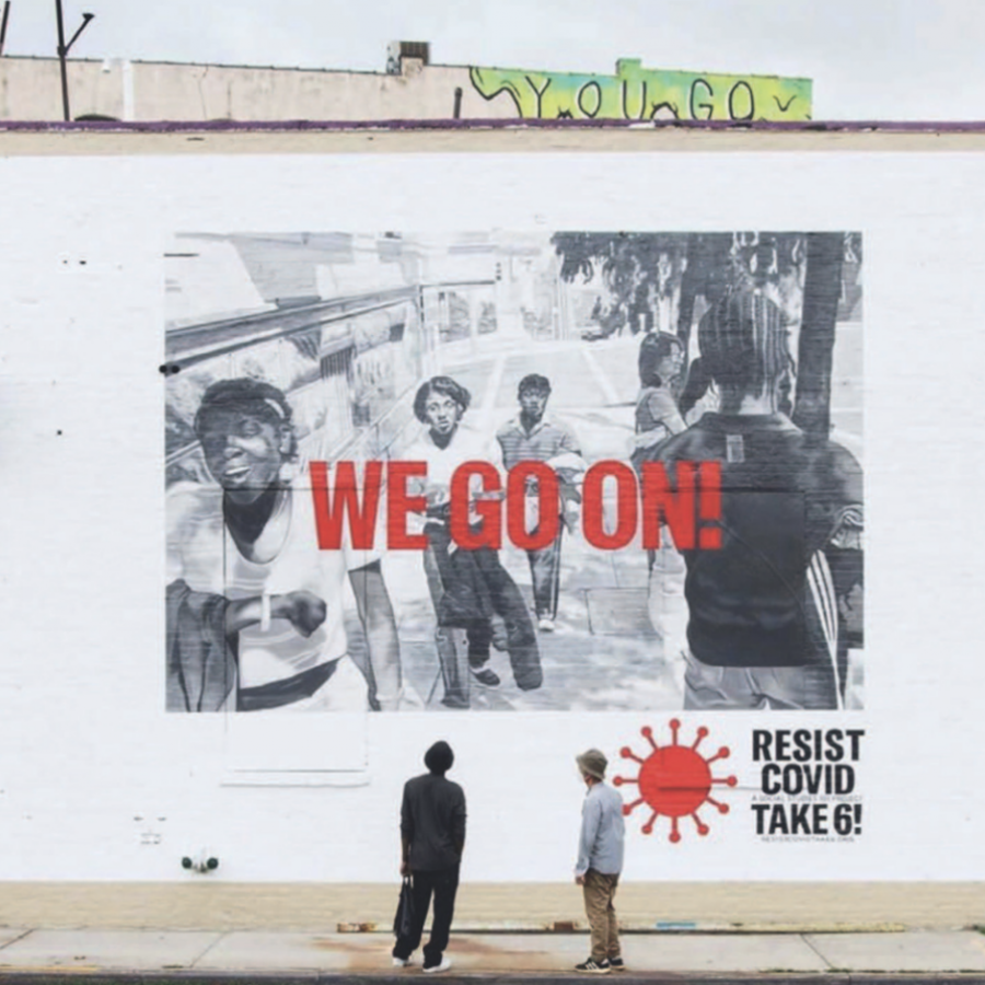 Resist-COVID_We Go On Artwork by Carrie Mae Weems