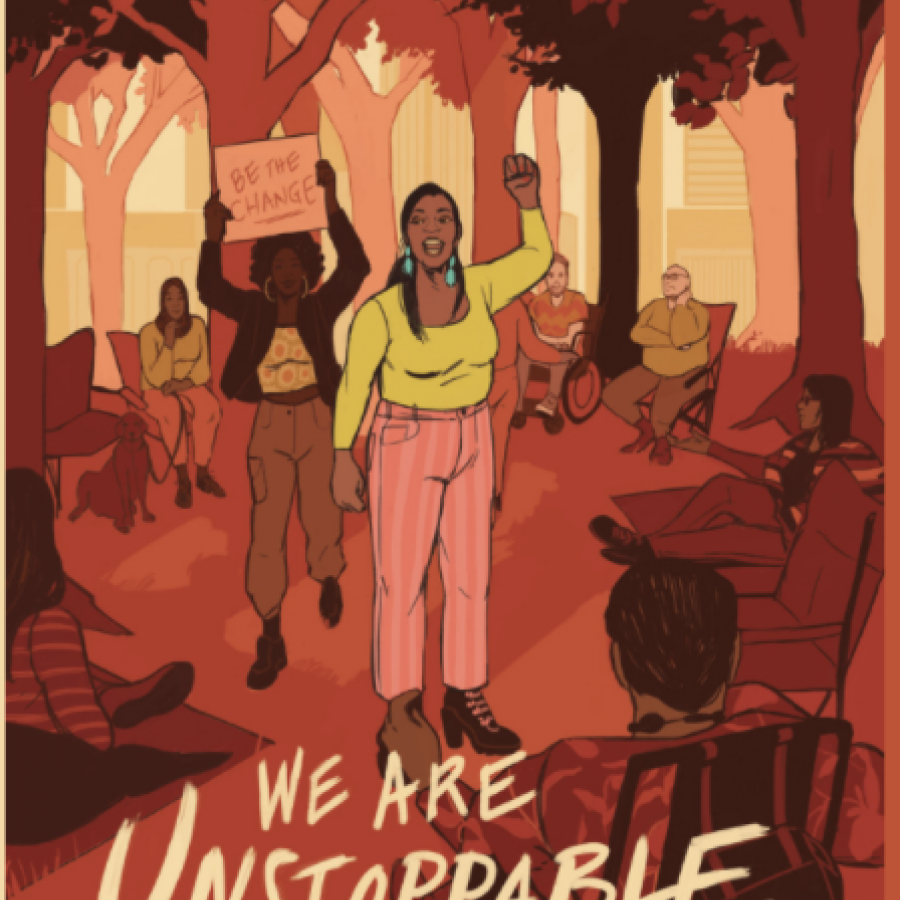 unstoppable-text-artwork-with-courageous-person