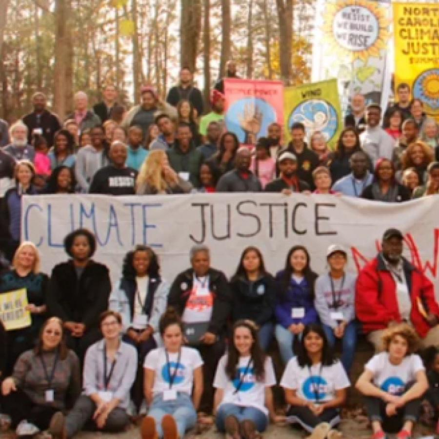 climate justice people in north carolina