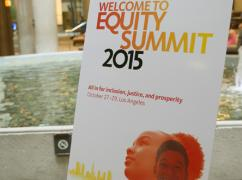 Building on the Momentum of Equity Summit 2015