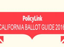 California Ballot Guide 2016