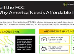 Call to Action:  Tell the Federal Communications Commission We Need Affordable Internet for All Now!