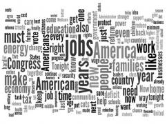 Words Most Used During the State of the Union Speech